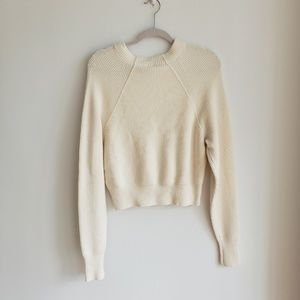 Free People Sweaters - NWT Free People Too Good Pullover White
